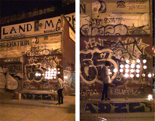 paperJAM, soft touch, cnr Bedford & S5th Aves, Brooklyn 2011